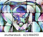 souls of light series. abstract ... | Shutterstock . vector #621486053