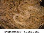 homemade fried rice noodles | Shutterstock . vector #621512153