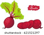 beet. beets with a bundle of...