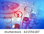 experiments in the laboratory | Shutterstock . vector #621556187