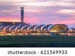 suvarnabhumi airport | Shutterstock . vector #621569933