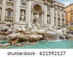 italy. rome. the trevi fountain....