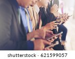 a lot of business people are... | Shutterstock . vector #621599057