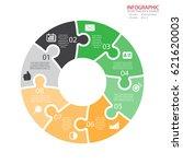 vector circle arrows... | Shutterstock .eps vector #621620003