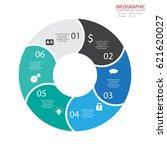 vector circle arrows... | Shutterstock .eps vector #621620027