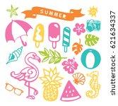 a vector illustration of... | Shutterstock .eps vector #621634337