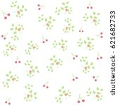 floral pattern seamless... | Shutterstock .eps vector #621682733