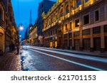 the streets of mexico city... | Shutterstock . vector #621701153