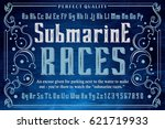 submarine races   perfect... | Shutterstock .eps vector #621719933