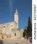 panoramic view of church of... | Shutterstock . vector #621733067