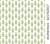 ear seamless pattern green... | Shutterstock .eps vector #621762017