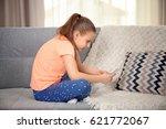 incorrect posture concept. cute ...   Shutterstock . vector #621772067