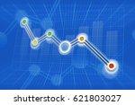 Abstract Declining Graph At...