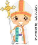 bible story illustration of a... | Shutterstock .eps vector #621806693