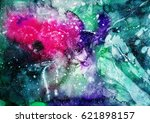 abstract hand made texture....   Shutterstock . vector #621898157