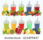 vector colored moktaili and... | Shutterstock .eps vector #621899837