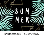 retro typographic summer design ... | Shutterstock .eps vector #621907037