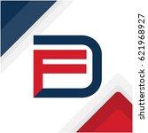 logo initials combination of...   Shutterstock .eps vector #621968927