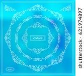 vector set of calligraphic...   Shutterstock .eps vector #621974897