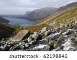 View From Scafell Pike  Lake...
