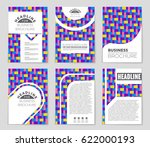 abstract vector layout... | Shutterstock .eps vector #622000193