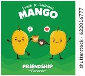 vintage mango poster design... | Shutterstock .eps vector #622016777