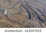 sprawling suburban and...   Shutterstock . vector #622047023