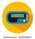 security token one time... | Shutterstock .eps vector #622058603