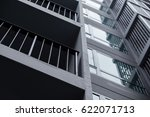 modern building is the condo ... | Shutterstock . vector #622071713