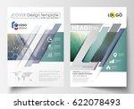 business templates for brochure ... | Shutterstock .eps vector #622078493