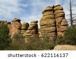 Echo Canyon Rock Hoodoos...