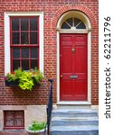 colorful historical house in... | Shutterstock . vector #62211796