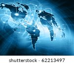 best internet concept of global ... | Shutterstock . vector #62213497
