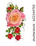 flower composition. a bouquet...   Shutterstock . vector #622144703