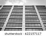 modern office building. black...   Shutterstock . vector #622157117
