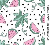 bright and juicy seamless... | Shutterstock .eps vector #622179053