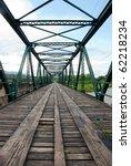 Iron Bridge In Pai Thailand