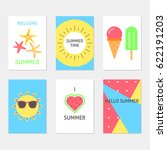 vector collection of bright...   Shutterstock .eps vector #622191203