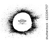 grunge circle background.grunge ... | Shutterstock .eps vector #622204757