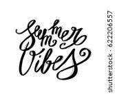 summer lettering design   hand...   Shutterstock .eps vector #622206557