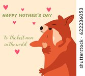 happy mother s day greeting... | Shutterstock .eps vector #622236053