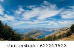 bay of kotor from the heights.... | Shutterstock . vector #622251923