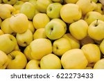 Yellow Apples Close Up...