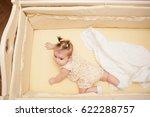 5 months old lovely baby girl... | Shutterstock . vector #622288757