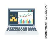 payment analytic  | Shutterstock .eps vector #622339097