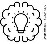 creative solution vector icon    Shutterstock .eps vector #622347377