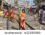 dhaka  bangladesh   february 8  ... | Shutterstock . vector #622350383