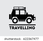 car icon for travel. travel by...