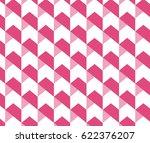 Geometric abstract pattern background, arrows pattern, chevron pattern | Shutterstock vector #622376207