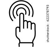 user interaction vector icon